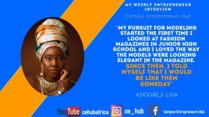 Lisa Adogbeji's quote
