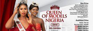 Queens of model Nigeria