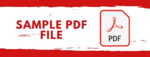 Advert rate sample PDF file