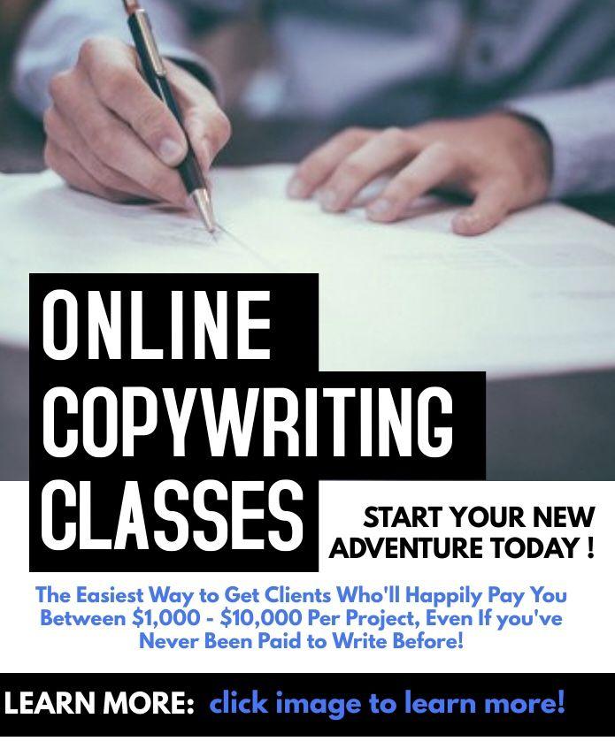 Online copywriting Masterclass
